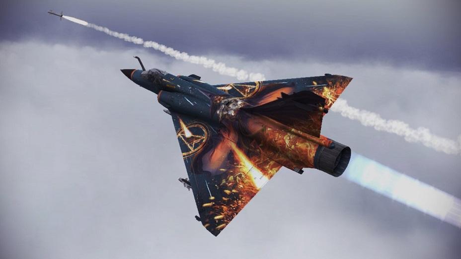 Mirage 2000 5 Magicien Ace Combat Infinity Wiki