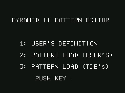 PC-6001 : ピラミッドII - Old G...