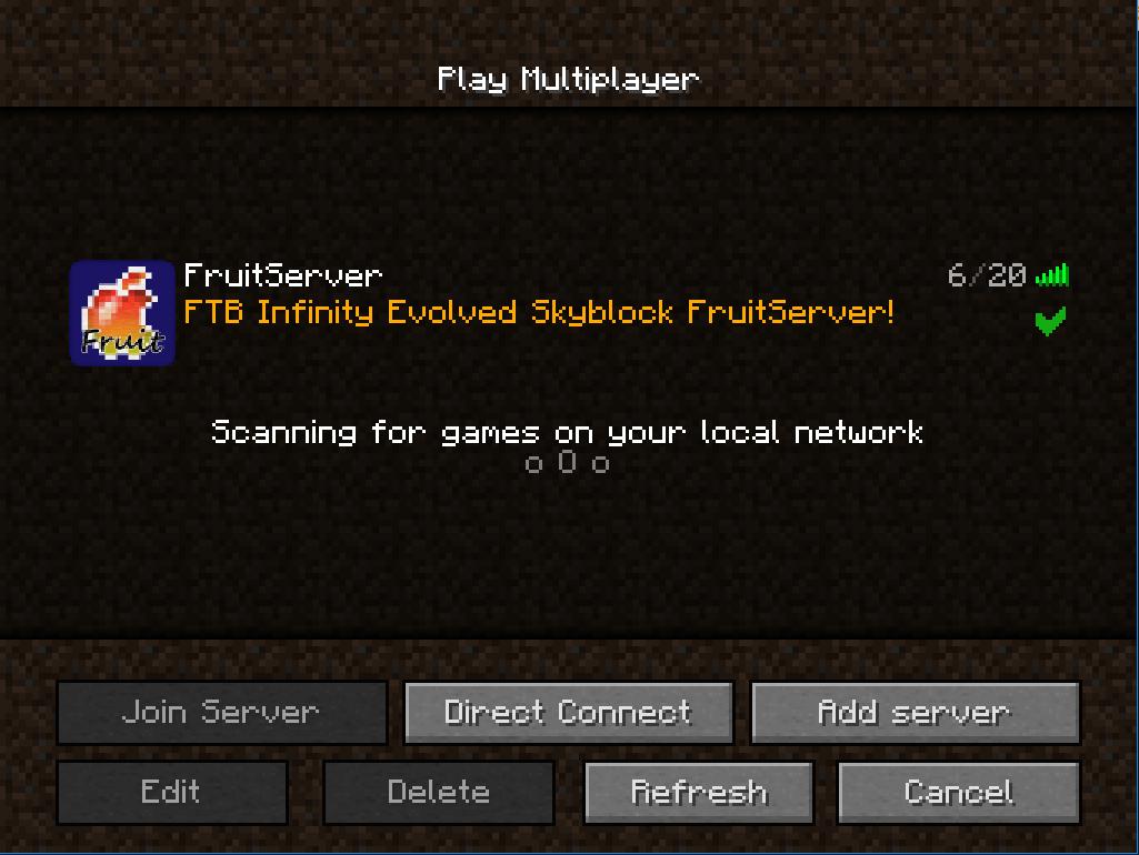 MODPackの導入方法 - FruitServer