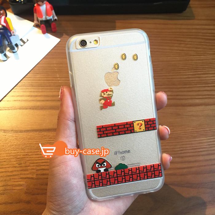 ea2d7b5413 カワイイ'トレンドのキャラクター マリオiPhone8/7s/7Plus/6sケース - ブランドiPhone・Xperia ...