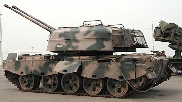 80式57mm自走機関砲(WZ-305/ZSU...
