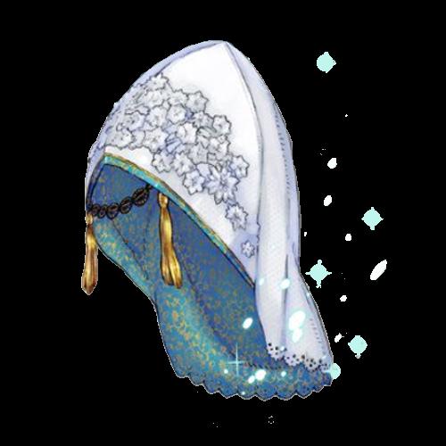 雪女の帽子